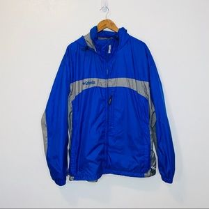 Columbia Mens lightweight windbreaker coat